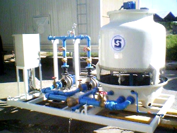 COOLING WATER PACKAGE UNIT MODEL : SQPC
